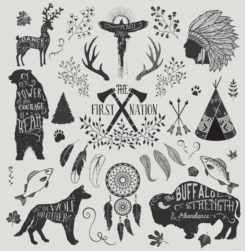 Áˆ Of Native Americans Stock Drawings Royalty Free Native American Images Download On Depositphotos