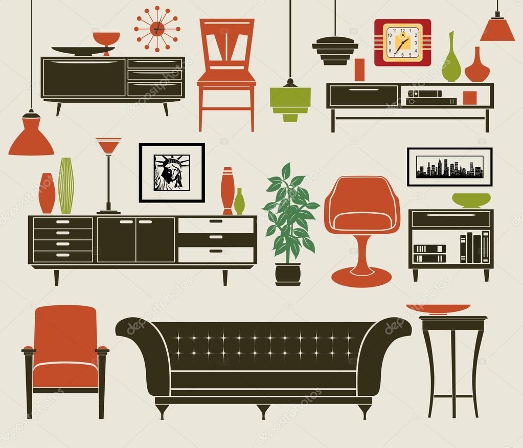 accessori mobili e casa vettoriali stock lanan 97617728