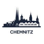 Fotografie Skyline der Stadt Chemnitz