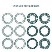 Photo Round Celtic Frames