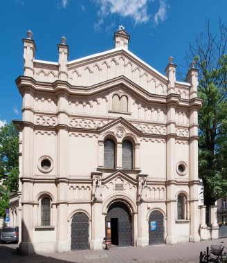 Temple Synagogue in Krakow, Poland
