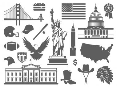 Traditional symbols of the USA