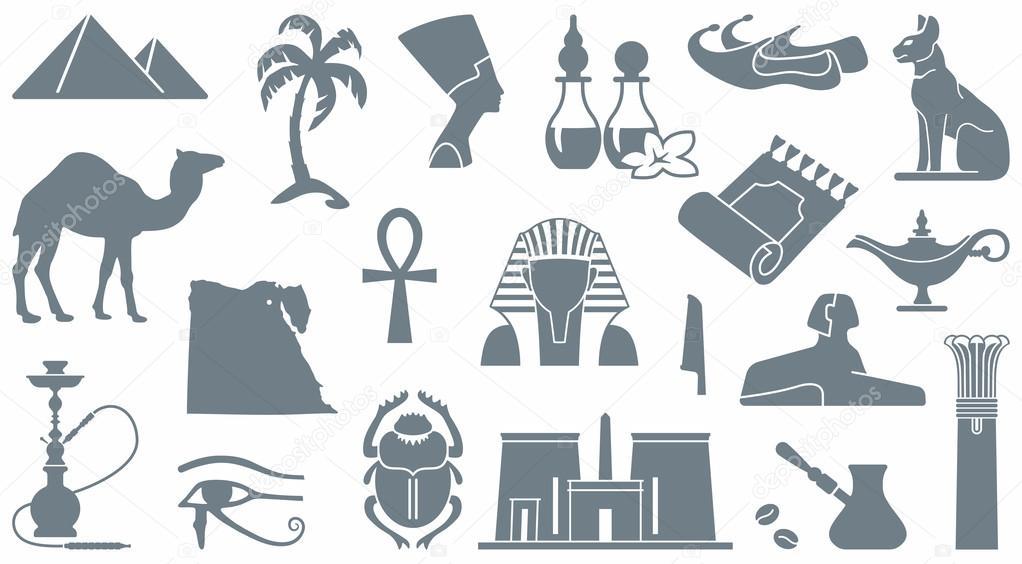 Egyptian Symbols Stock Vectors Royalty Free Egyptian Symbols