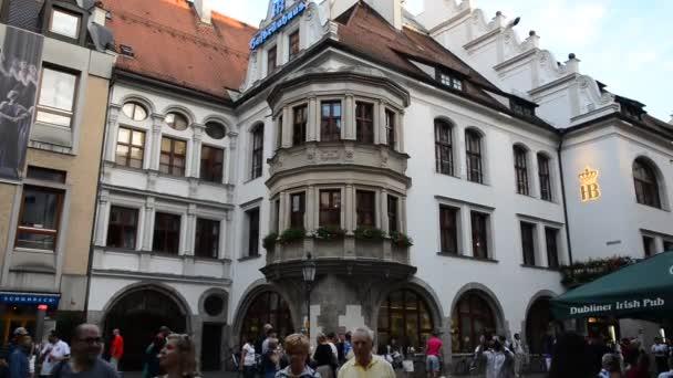Ansicht des berühmten Hofbräuhaus - München, Deutschland