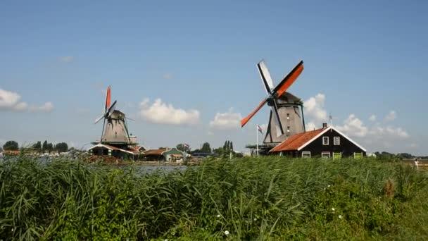 Krajina větrný mlýn zaanse schans
