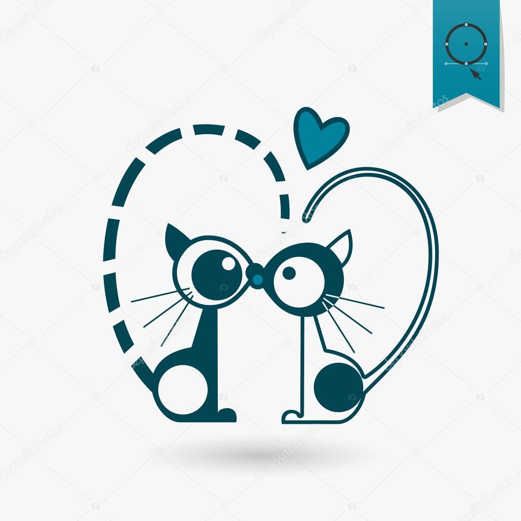 Happy Valentines Day Icon Stock Vector C Helenstock 62179879