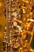 Photo Fragment of the saxophone