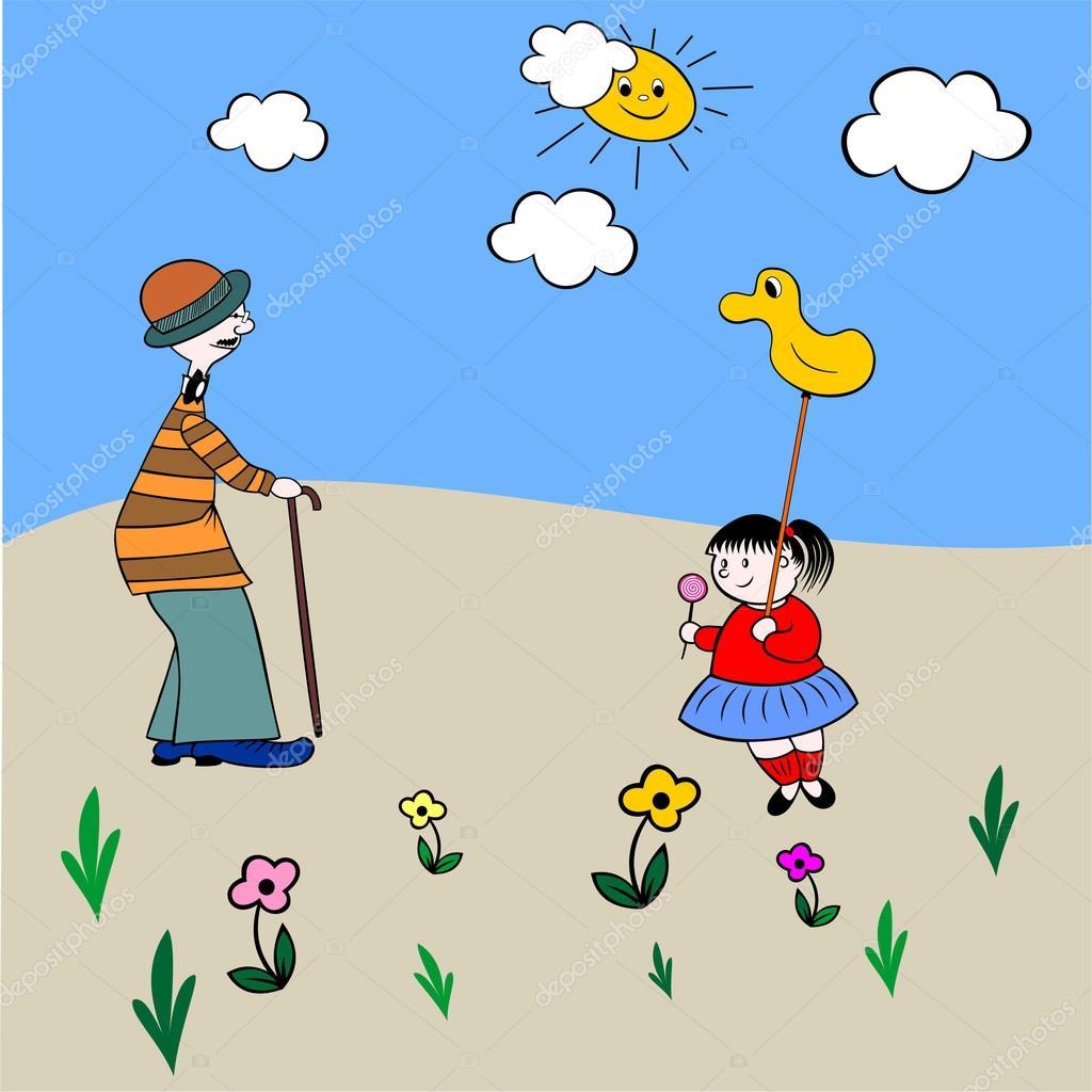 da la bienvenida a la primavera de abuelo y nieto, libro para ...