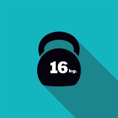 Kettlebell  16 kg.