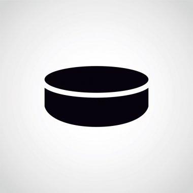 hockey puck.
