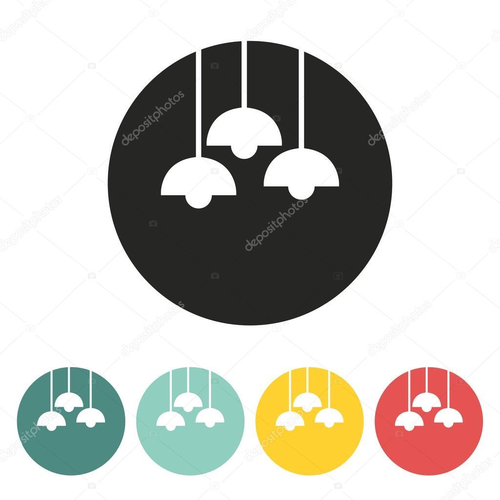 Hanging lamp icon.