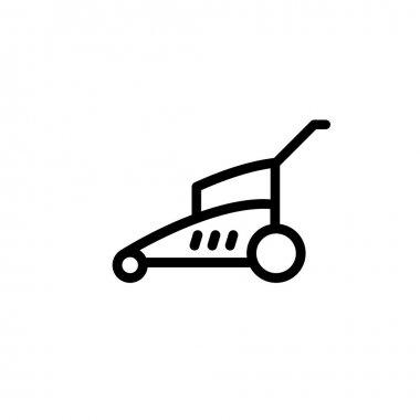 lawn mower.vector illustration.