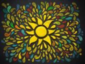 Plastelíny dekorativní slunce