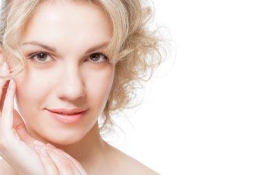 Portrait of a womans face