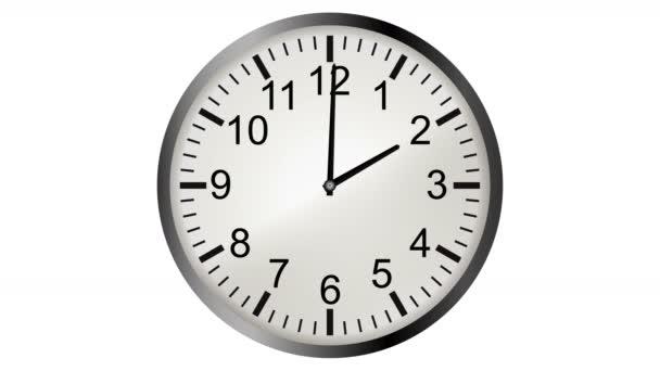 4 k (Ultrahd) loopable video animace timelapse hodin