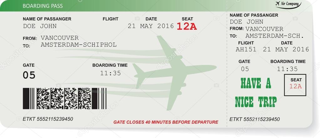 Wzór Na Pokład Karnet Biletów Lotniczych Grafika Wektorowa