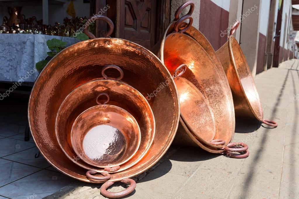 Santa Clara Del Cobre Mexiko Stockfoto C Quasarphoto 54330387