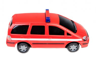 Police car red toy