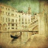 Fotografie Vintage Bild von Venedig