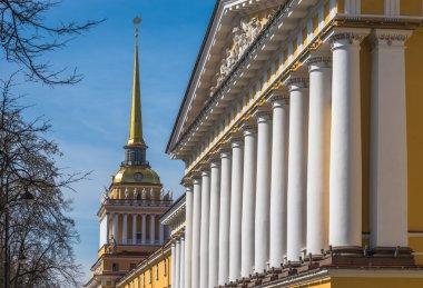 Admiralty building in Saint Petersburg