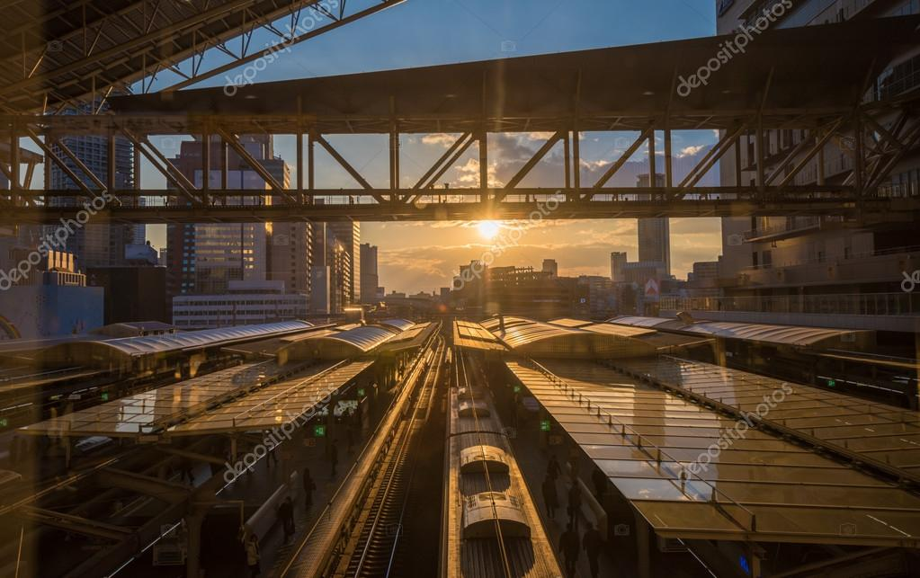 Osaka railway station,