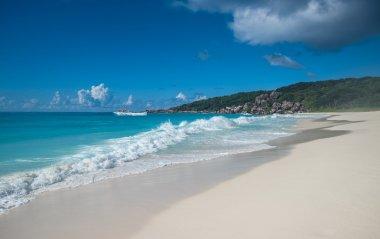 Grand Anse tropical beach
