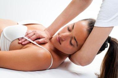 Osteopathic neck massage