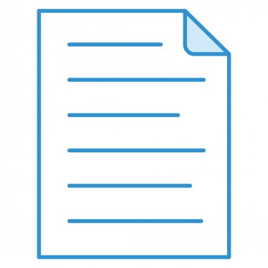 Business and technology icon for document  & sheet icon