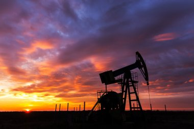Industrial oil and gas well