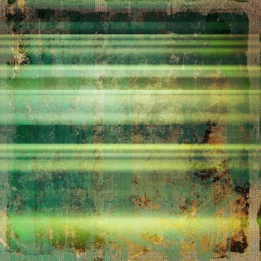 Old school frame or background with grungy textured elements and different color patterns