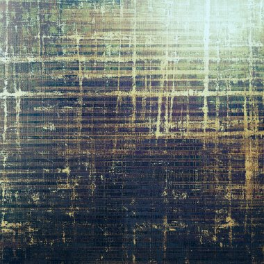 Abstract grunge background or damaged vintage texture. With different color patterns