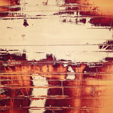 Old canvas: Abstract textured background with white patterns on