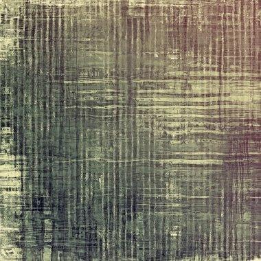 Vintage, textured background with grunge patterns