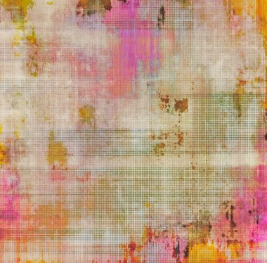 Old abstract texture with grunge pattern