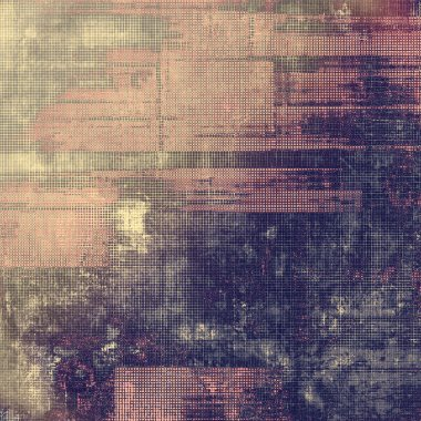 Grunge colorful background or old texture for creative design work. With different color patterns