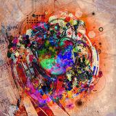 Fényképek absztrakt színes háttér