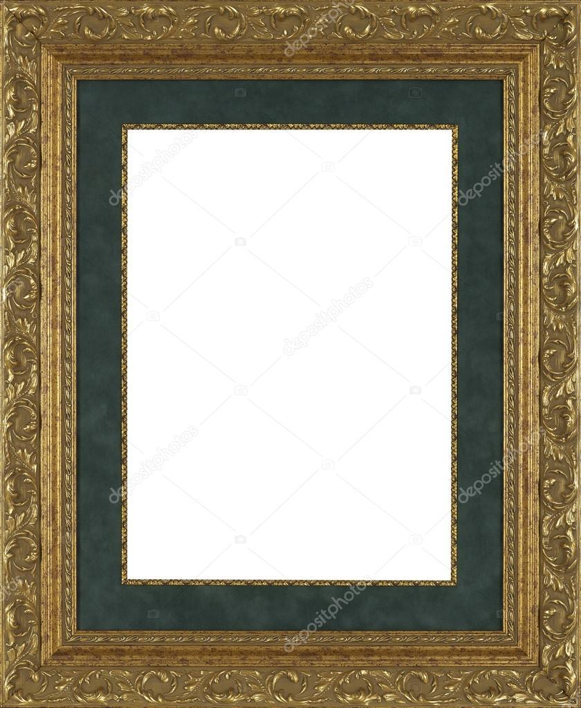 bilderrahmen gold — Stockfoto © denispro74 #87839974