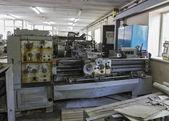 Fényképek Régi ipari berendezések. Fordulási eszterga