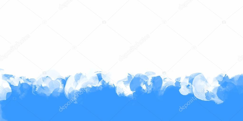 Fondo Color Trazos Azul