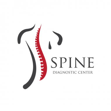 Medical diagnostic spine center  logo