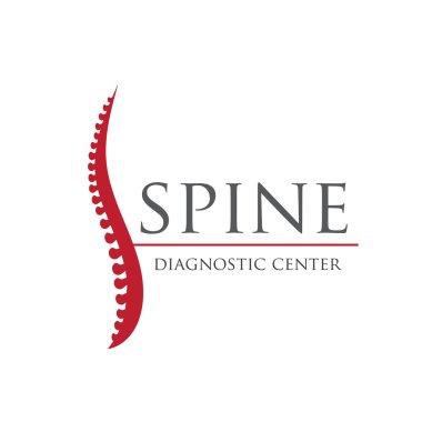 Spine diagnostic center logo