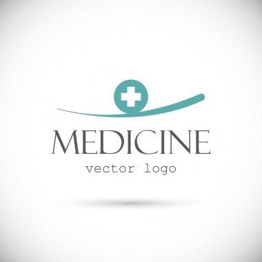 Medicine logo on white