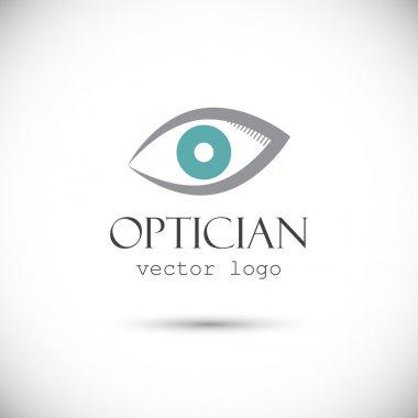 Optician logo on white