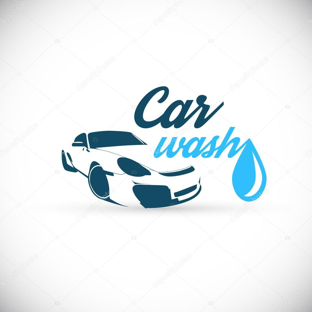car wash logo ⬇ vector image by © shekaka | vector stock 86127968  depositphotos