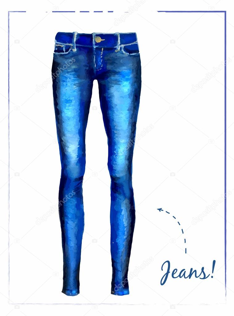 how to draw jeans texture