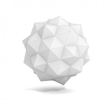Abstract geometric 3d object