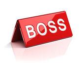 šéf identifikační štítek