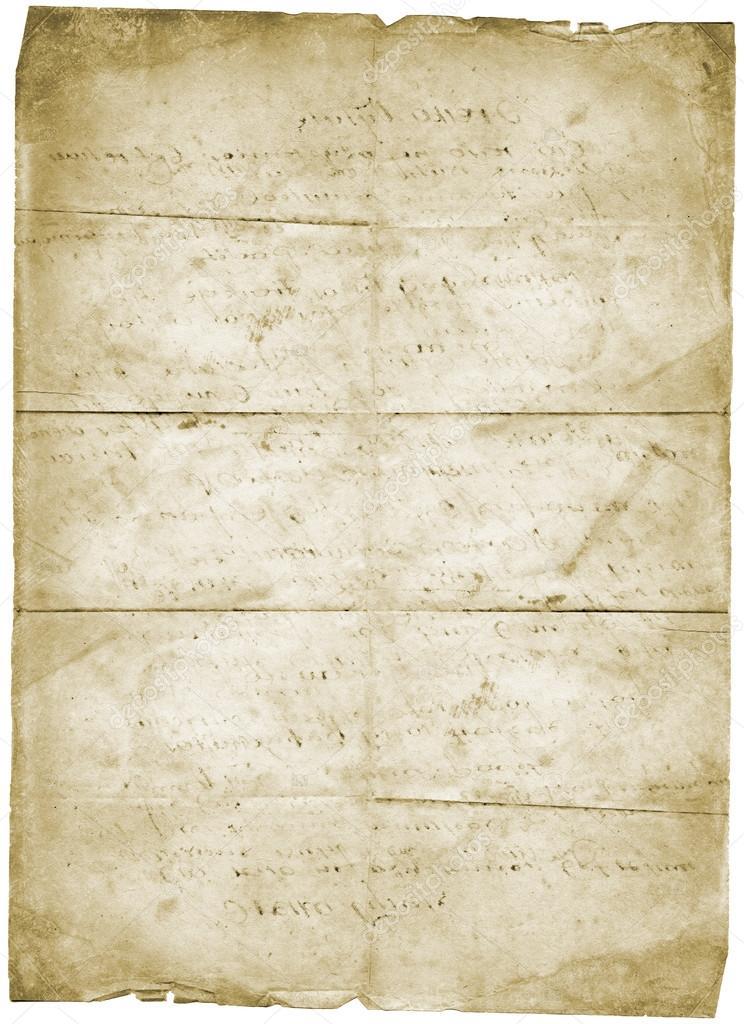 époustouflant vieux papier à lettre grunge vintage — Photographie mankukuku @YP_59