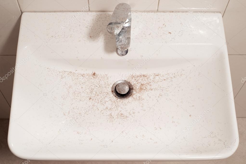 sink after shave