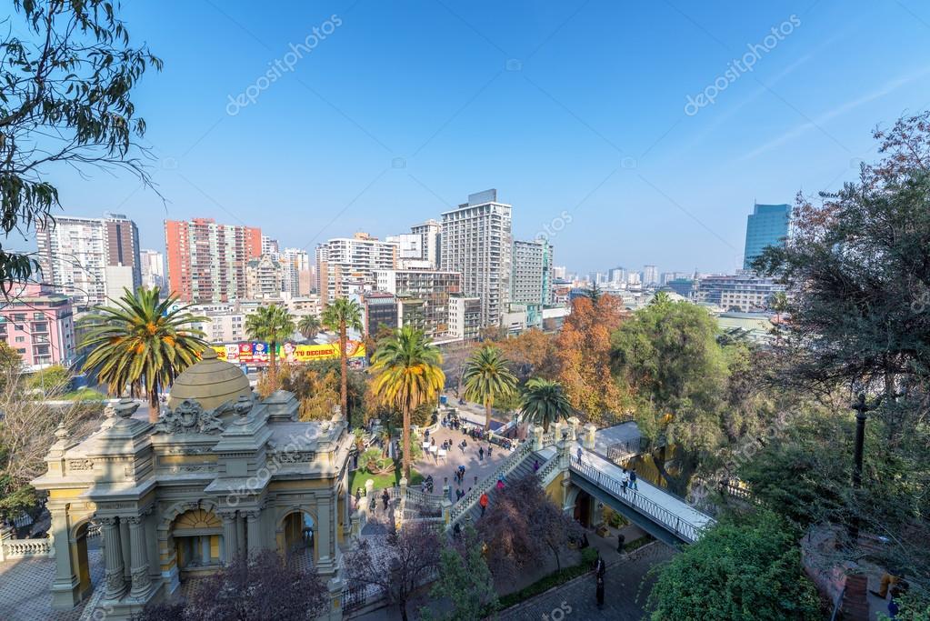 Paisaje Urbano De Santiago De Chile